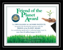 Friend of the Planet Award